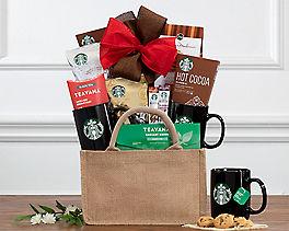 Suggestion - Starbucks and Teavana Assortment Gift Basket Original Price is $69.95