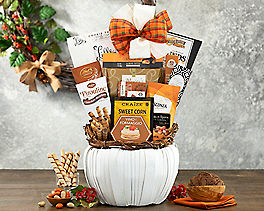 Suggestion - Fall Pumpkin Collection Gift Basket