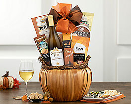 Suggestion - Cliffside Chardonnay Winter Gift Basket Original Price is $69.95