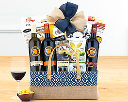 Suggestion - Italian Wine Collection Gift Basket