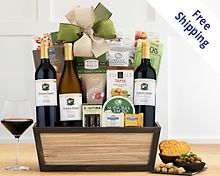 Hobson Estate California Trio Gift Basket Free Shipping