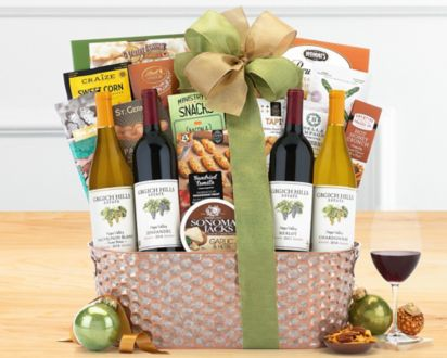 Grgich Hills Napa Valley Selection Wine BasketGrgich Hills Napa Valley Selection Wine Basket ...