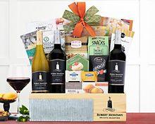Robert Mondavi Private Selection Wine Basket Gift Basket
