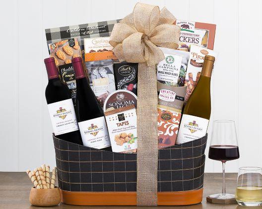 kendall jackson vintner s reserve collection gift basket at wine