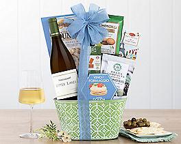 Suggestion - Rock Falls Vineyards Chardonnay Wine Gift Basket