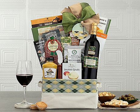 Hole in One Merlot Collection Gift Baskets