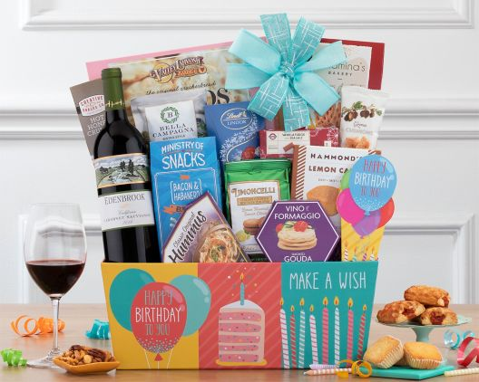 birthday gift baskets at wine country gift baskets