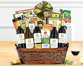 Suggestion - Crossridge Peak California Collection Wine Basket