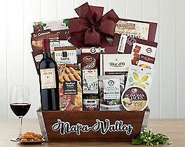Suggestion - Houdini Napa Valley Cabernet Wine Basket Original Price is $120.00
