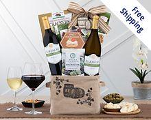 Blakemore Winery Duet Wine Gift Basket Gift Basket  Free Shipping