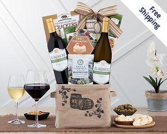 Item 731 - Blakemore Winery Duet Wine Gift Basket FREE SHIPPING