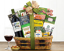 Suggestion - Barrel Hoops Cabernet Bon Appetit Wine Basket