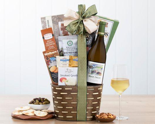 briar creek cellars chardonnay gift basket at wine country gift