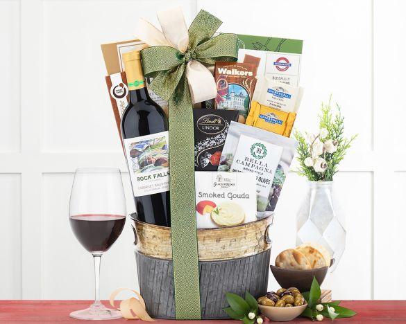 quick look wishlist wishlist edenbrook vineyards cabernet wine basket