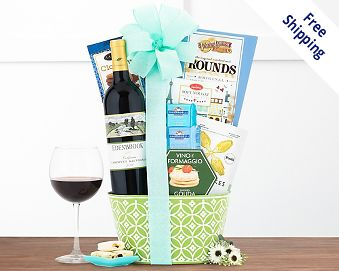 Easter baskets at wine country gift baskets quick look wishlist wishlist little lakes cellars cabernet gift basket negle Image collections