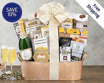 Kiarna California Champagne Assortment Gift Basket  Free Shipping 10% Save Original Price is $99.95