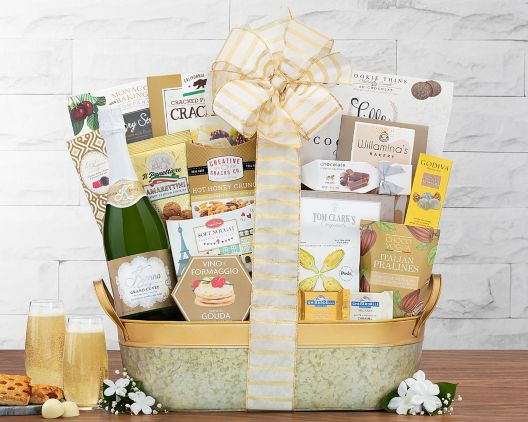 Image result for Kiarna California Champagne Assortment Gift Basket