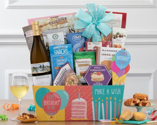 Item 746 - Vintners Path Chardonnay Birthday Collection  sc 1 st  Wine Country Gift Baskets & Birthday Gift Baskets at Wine Country Gift Baskets
