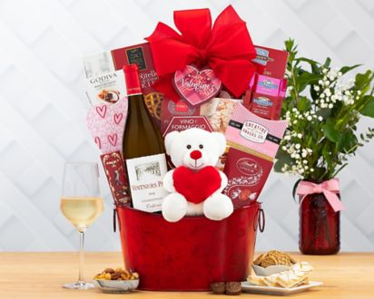 Wine Country Gift Basket Valentines Day