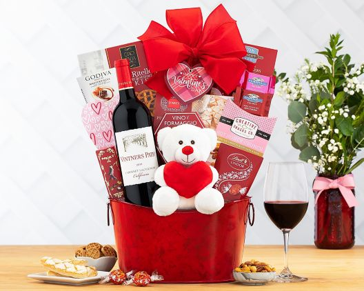 Valentine S Day Gift Baskets At Wine Country Gift Baskets