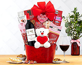 Suggestion - Vinters Path Valentine Cabernet Wine Basket