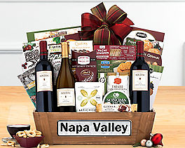 Suggestion - Houdini Napa Valley Trio Wine Basket