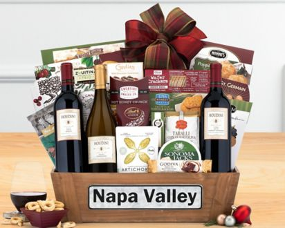 Houdini Napa Valley Trio Wine BasketHoudini Napa Valley Trio Wine Basket ...