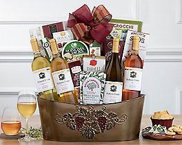 Suggestion - Cliffside Vineyards California Quartet Wine Basket