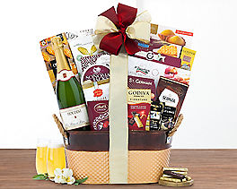 Suggestion - Houdini Blanc de Noir Champagne Wine Basket