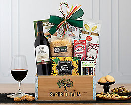 Suggestion - Viti Della Terra Sangiovese Red Wine Gift Basket Original Price is $79.95