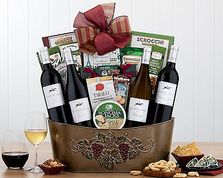 HOBSON ESTATE VINEYARDS QUARTET GIFT BASKETS