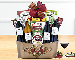 Suggestion - Barrel Hoops Quartet Wine Basket