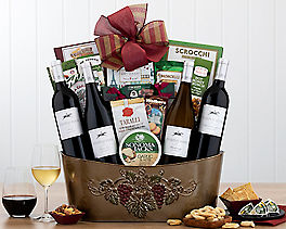 Suggestion - Cliffside Vineyards Quartet Wine Basket