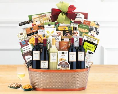 Houdini Napa Valley Collection Gift BasketHoudini Napa Valley Collection Gift Basket ...