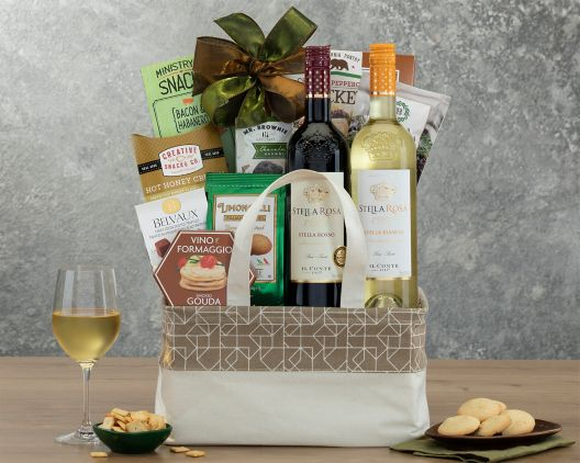 Image result for Stella Rosa Semi Sweet Wine Assortment Gift Basket