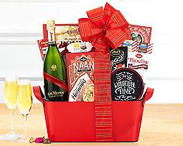 Suggestion - Mumm Cordon Rouge Champagne Gift Basket