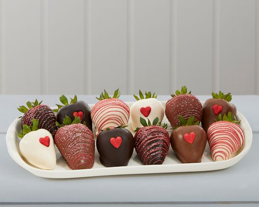 Valentine S Chocolate Dipped Strawberries At Wine Country Gift Baskets