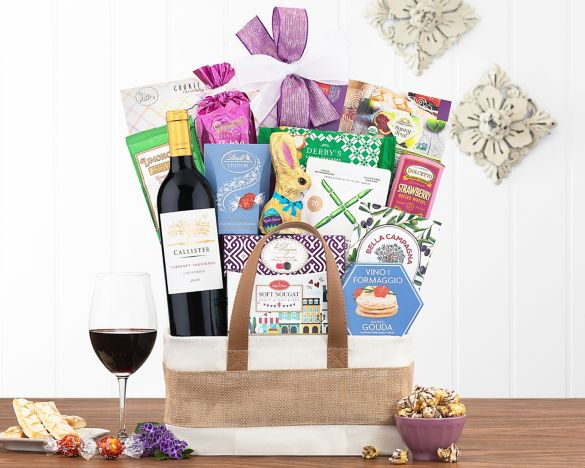 Kiarna vineyards cabernet easter assortment gift basket at wine image2 negle Image collections