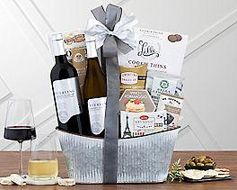 Suggestion - Sterling Vintner's Duet Wine Basket