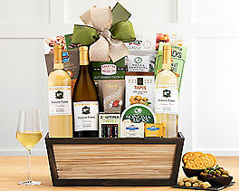 Suggestion - Cliffside Vineyards White Wine Trio Gift Basket