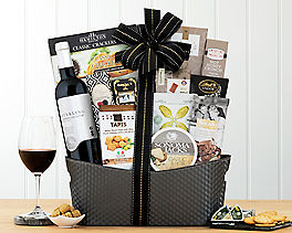 Suggestion - Sterling Meritage Red Wine Basket Original Price is $110