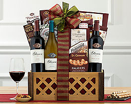 Suggestion - Estancia Vineyards Trio Wine Basket Original Price is $135.00