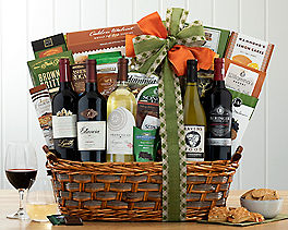 Suggestion - California Red and White Wine Basket Original Price is $195
