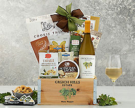 Suggestion - Grgich Hills Chardonnay Wine Gift Basket Original Price is $99.95
