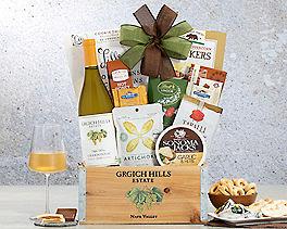 Suggestion - Grgich Hills Chardonnay Wine Gift Basket