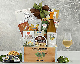 Suggestion - Grgich Hills Fume Blanc Wine Gift Basket Original Price is $125