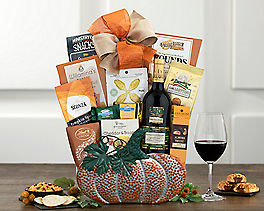 Suggestion - Barrel Hoops Cabernet Halloween Wine Basket