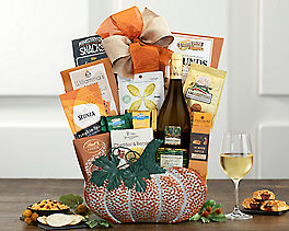 Suggestion - Barrel Hoops Chardonnay Halloween Wine Basket