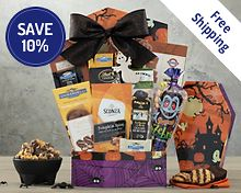 Halloween Chocolate and Sweets Gift Basket  Free Shipping 10% Save Original Price is $49.95