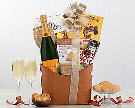 Suggestion - Veuve Clicquot Champagne Gift Basket